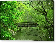 Jacobsburg State Park Pa Acrylic Print