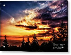 Summer Solstice Sunrise Acrylic Print by Thomas R Fletcher