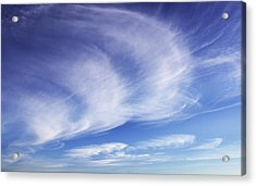 134 - Atmospheric - Cloud Cluster Acrylic Print by Eric  Copeman