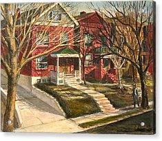 1385 Clara Avenue Acrylic Print by Edward Farber