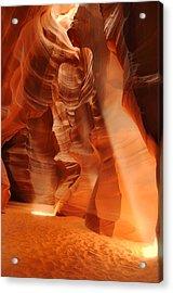 Antelope Canyon Acrylic Print by Jacek Joniec