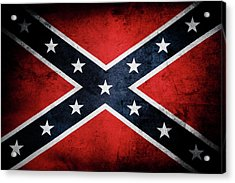 Confederate Flag 13 Acrylic Print