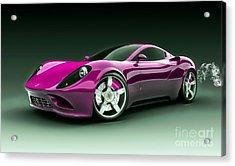 Ferrari Collection Acrylic Print