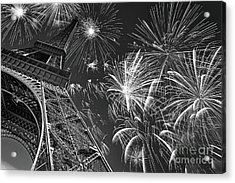 14 Juillet Acrylic Print by Delphimages Photo Creations