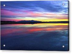Lake Winnipesaukee - Layers Acrylic Print