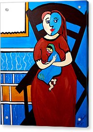 Picasso By Nora Acrylic Print
