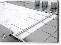 Polygraph Lie Detector Machine Acrylic Print