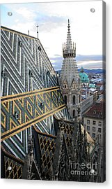 St Stephens Cathedral Vienna Acrylic Print