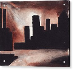 14th St. Con Ed Acrylic Print
