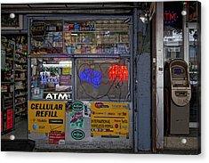 14th Street Acrylic Print by Robert Ullmann
