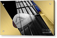 Acoustic Guitar Collection Acrylic Print
