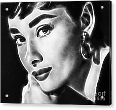 Audrey Hepburn Collection Acrylic Print by Marvin Blaine