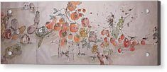 Garden  Of  Plenty  Album  Acrylic Print by Debbi Saccomanno Chan
