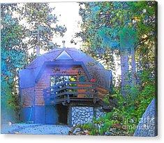 Idyllwild - Houses On The Hill Acrylic Print