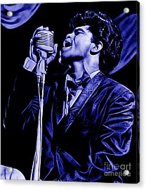 James Brown Collection Acrylic Print by Marvin Blaine