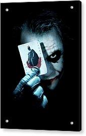 The Dark Knight 2008  Acrylic Print