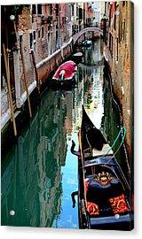 Venice Acrylic Print by Barbara Walsh
