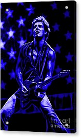 Bruce Springsteen Collection Acrylic Print