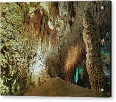 Carlsbad Caverns Acrylic Print by Stephen  Vecchiotti