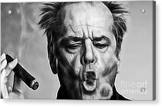 Jack Nicholson Collection Acrylic Print