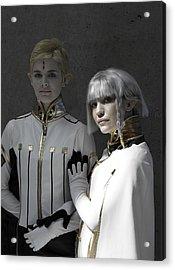 Dio And Lucciola Acrylic Print by Viktor Savchenko