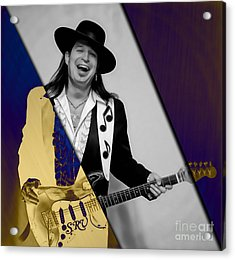 Stevie Ray Vaughan Collection Acrylic Print