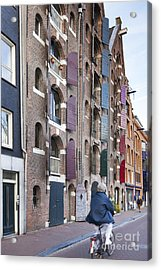 Streets Of Amsterdam Acrylic Print by Andre Goncalves