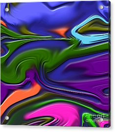 1691 Abstract Thought Acrylic Print