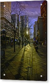 16th Street Mall Acrylic Print
