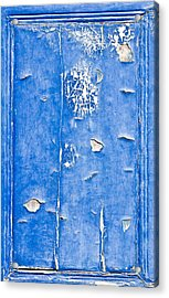 Blue Wood  Acrylic Print by Tom Gowanlock