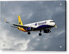 Monarch Airlines Airbus A321-231 Acrylic Print