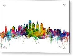 Philadelphia Pennsylvania Skyline Acrylic Print