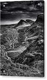 The Quiraing Acrylic Print by Nichola Denny