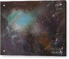 170,000 Light Years From Home Acrylic Print by Lorraine Centrella