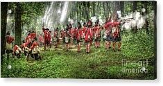 1763 Battle Of Bushy Run Pennsylvania Acrylic Print by Randy Steele