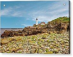 1791 Portland Head Lighthouse  -  1791portlandheadlight185245 Acrylic Print by Frank J Benz