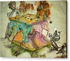 Go Game Album Acrylic Print