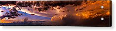 Acrylic Print featuring the photograph Nebraska Hp Supercell Sunset by NebraskaSC