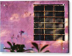 Acrylic Print featuring the photograph 18 Rectangles  by Prakash Ghai