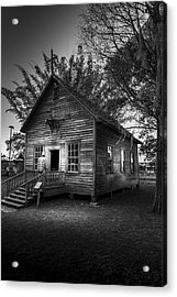 1800's Florida Church Acrylic Print by Marvin Spates
