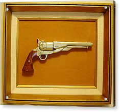 1851 Colt Acrylic Print by Russell Ellingsworth