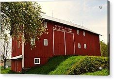 1855 Maple Dell Farm Barn Acrylic Print