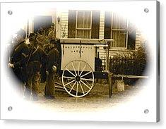 1863 Cival War Camera Acrylic Print by Robert Pearson