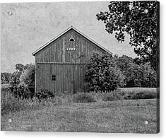 Acrylic Print featuring the photograph 1869 Black And White by Kim Hojnacki