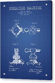 1879 Exercise Machine Patent Spbb08_bp Acrylic Print