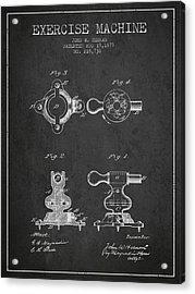 1879 Exercise Machine Patent Spbb08_cg Acrylic Print