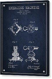 1879 Exercise Machine Patent Spbb08_nb Acrylic Print