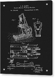 1879 Treadmill Acrylic Print