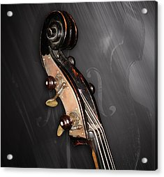 1880 Bass - Scroll Acrylic Print by Lisa A Bello