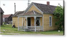 1880 Home Acrylic Print by Gregory Jeffries
